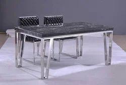 Steel Daining Table Set