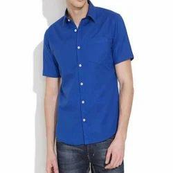 Casual Wear Cotton/Linen Boys Half Sleeve Shirt