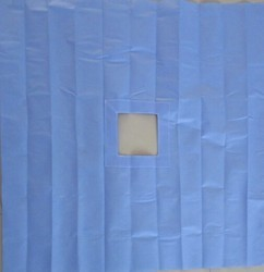 Hole Sheet Drapes