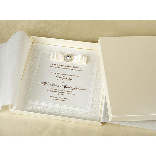 Wedding Invitation Book Style: Book Style Luxury Wedding Invitation Card, Rs 40 /piece