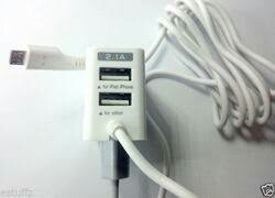 Apple White Mobile Charger Row Materials