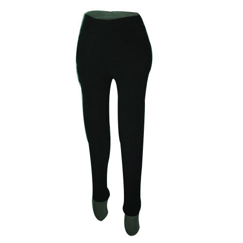 68a27cdae79c0 Black Straight Fit Ladies Formal Legging, Size: Large, Rs 170 /piece ...