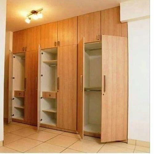 Wooden designer wardrobe at rs 1200 square feet - Wardrobe design ...