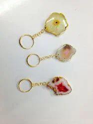 Agate Key Chain