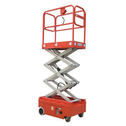 Tiny Self-propelled Scissor Work Platform