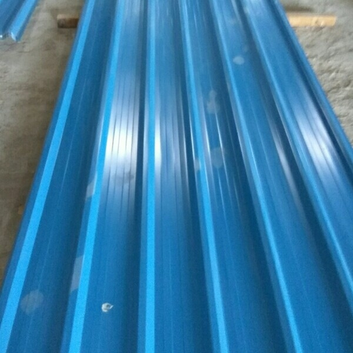 Manufacturer Of Blue Teen Shed Amp Silver Roofing Sheet By