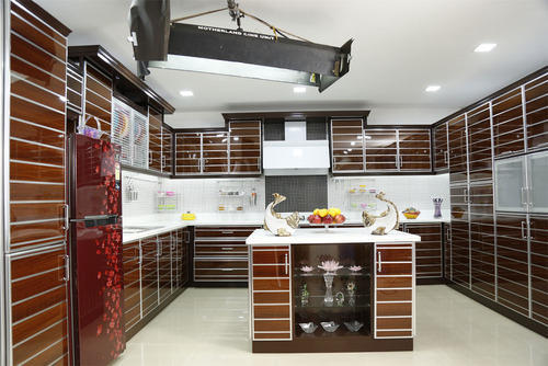 Modular Kitchens, 8 Square Modular Kitchens, Contemporary ...