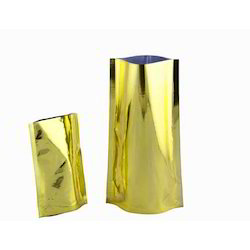 Gold Metalized Laminated Stand Up Pouch