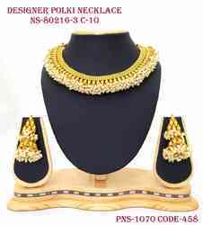 designer ghanthan necklace set