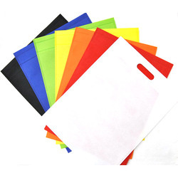 Multi Color Polypropylene Non Woven D Cut Bag, Capacity: 250 Gm - 10 Kg