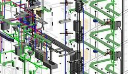 Revit MEP Services For Building Construction, India