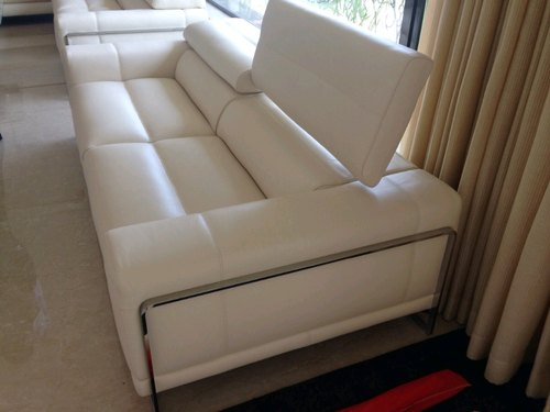 Enjoyable White Convertible Sofa Bed Bhosle Enterprises Id 20137680888 Caraccident5 Cool Chair Designs And Ideas Caraccident5Info