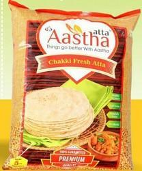 Aastha Organic Fresh Atta for Cooking