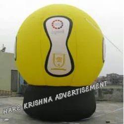 Ground Logo Balloon Advertising
