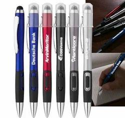 LED Laser Light LOGO Engrave Pen Promotional Messages Gifts