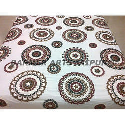 COTTON SUZANI BED COVER