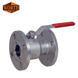 Single Piece Design Ball Valve