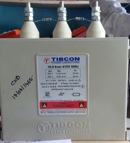 Keltron Three Phase Tibcon Power Capacitor 10 0 Kvar Rs 1850 Pack Id 15401466748