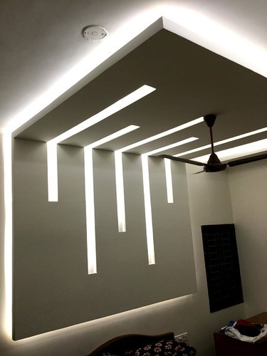 Gypsum Ceiling False Ceiling Rs 65 Square Feet Jay Jay