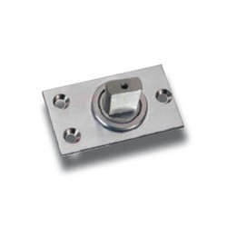 SS Bottom Bearing Patch Pivot, For Glass Fitting, Size: Standard