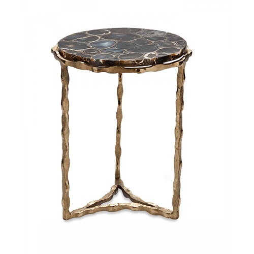 Side Table India.Agate Side Table