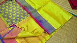 Pure Handloom Silk Cotton Saree