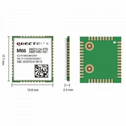 LTE GSM-GPRS UMTS-HSPA GNSS Modules - Quectel EC25 LTE