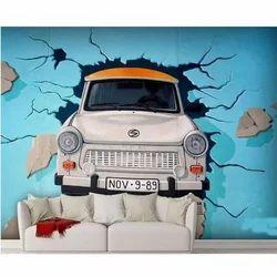 3D Car Wallpaper, 3D-वॉलपेपर - Kinjal
