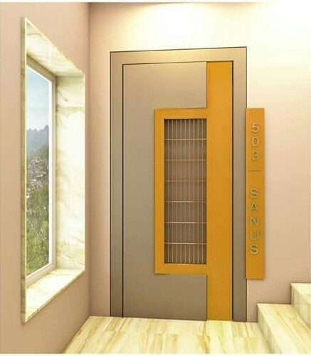 S.S Grill Lemineadd Door & S.s Grill Lemineadd Door SS Door - Shivshakti Door World Vadodara ...