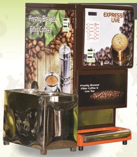 Express Live Premium Coffee Vending Machine Rs 55000