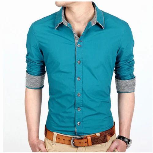 6fe2b1f1173 Cotton Mens Party Wear Shirt