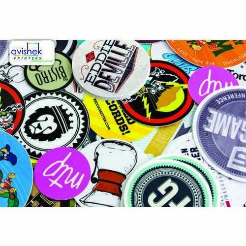 Customized sticker printing service