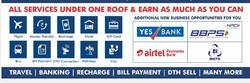PAN Card, E-tickets, DTH SELLING, All Bill Payments