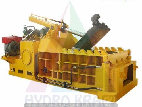 VEE KRAFT Brand Iron Scrap Baling Press