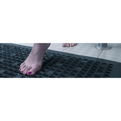 Anti-Slip Kitchen Floor Mat With Vacuums