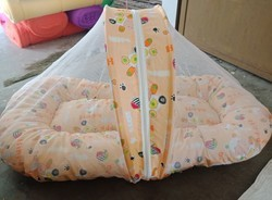 Printed Baby Mosquito Net Bed