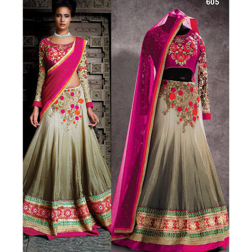 5e2458258e Semi-Stitched Wedding Wear Lehenga Choli, Rs 3210 /piece, Style ...