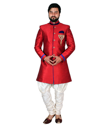 Adhyam Party and Festive Wear Mens Indo Western Suit