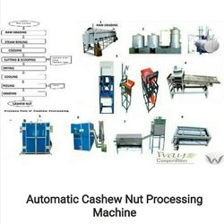 Cashew Nut Processing Machine Plant, Capacity: 1000 Kg