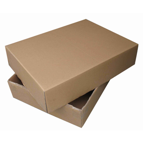 Round Golden Brown Packaging Corrugated Box