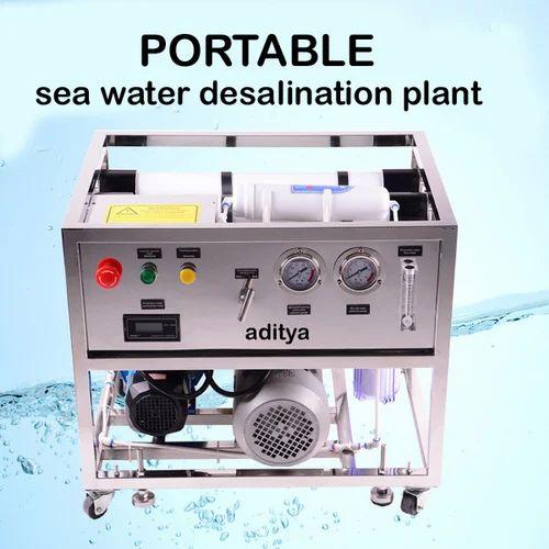 Sea Water Desalination Plant Portable