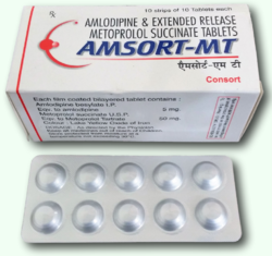 AMSORT-MT (Amlodipine & Metoprolol Tartrate (ER)  Tablets)