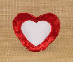 Personalize Heart Shape Cushion