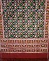 Black Patan Patola Saree With Blouse Piece, Saree Length: 5.5 M