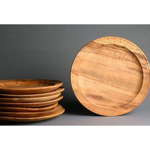 Wooden Dinner Plates  sc 1 st  IndiaMART & Wooden Dinner Plates at Rs 500 /unit | Lakdi Ki Plate Wood Plate ...