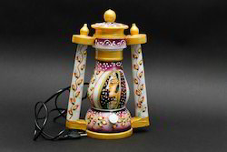 Marble Painting Lamp