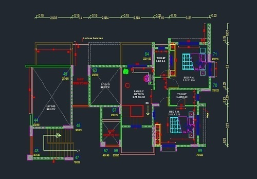 2d Cad Drawing Service 2d Cad Drawing Service In Padur