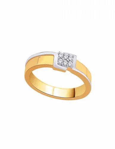 D'damas Diamond Men's Ring