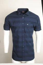 Cotton Male Plain Shirt
