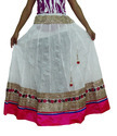 Girls Heavy Border Skirt